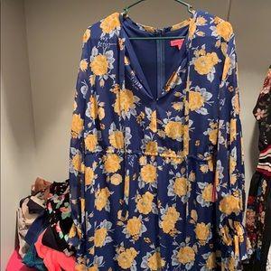 Betsy Johnson Chiffon Dress